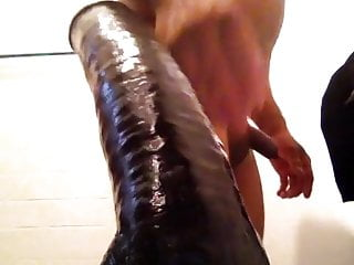 Preview 1 of One more time my 14 dildo