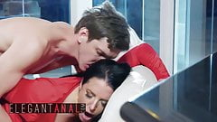 Elegant Anal - Angela White, Markus Dupree - Cherry Kiss