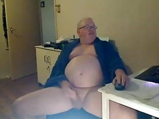 Smooth mature wanker