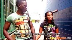 African amateur teen blows friend for money