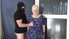 Passive grandmother alternates dicks