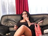 Amateur smoking video
