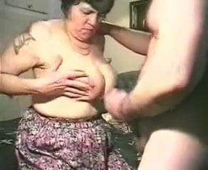 Elderly man is having sex in front of camera 8