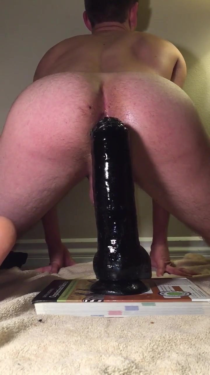 Anal sex huge dildo-7975
