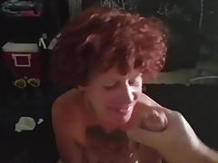 Buffy sucking my cock
