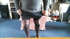 Dressed in my Girdle and Stockings