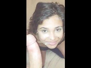 Sexy  Year Old Latina Blowjob And Facial