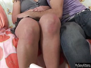 Teen hoe Lisa gets pussy fucked and jizzed