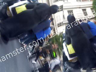 Hijab abaya ass voyeur walk (khalij) UKPart1