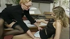 Lesbian Teacher Has Student Stay After Class