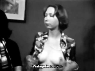 Threesomes with Girls that Love Swallowing (1960s Vintage)