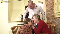 Granny GRANNY and granny fucked by young boy