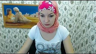 Teen hijab webcam