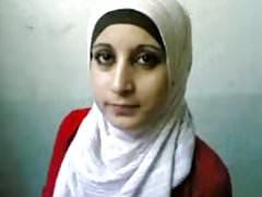 Arab hijab flash big tits
