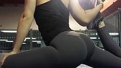 Big Booty Gym Slut