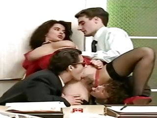 Angelica Bella Vintage French Gangbang