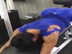 hottest muscular woman Brazil 2