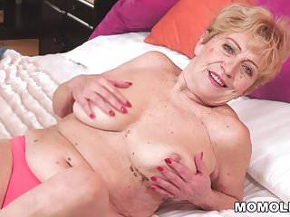 Granny cock with old playing