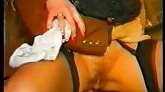 Vintage anal brunnette
