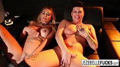 Jezebelle Bond Haloween Lesbians