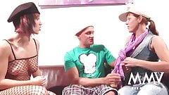 MMV FILMS Gina visits an Amateur Couple