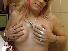 Brunette slim milf cheat wife