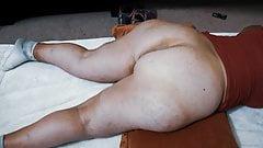 Mature BBW with Huge Cellulite Ass, Super Wide hips