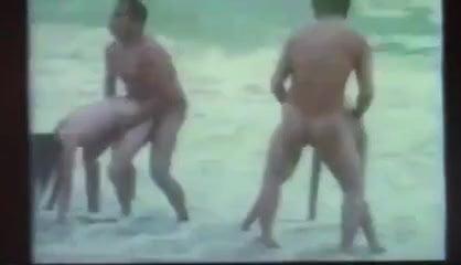 Thai Vintage Porn Movie Beach orgy