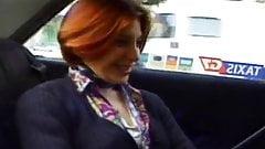French redhead fucks hard a strange man