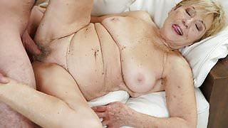 Luscious granny Malya