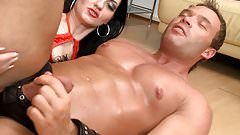 3 of the hottest submissive males strapon pegged compilation