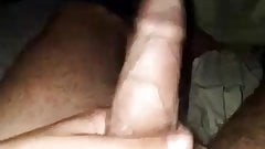 A short tease playing with my cock