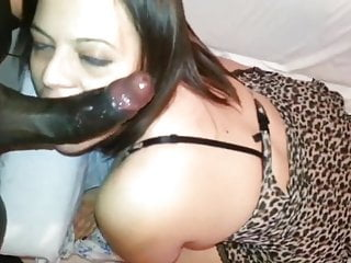 Mostly homemade interracial music clip 16