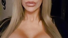 Hot milf with big fake tits 4