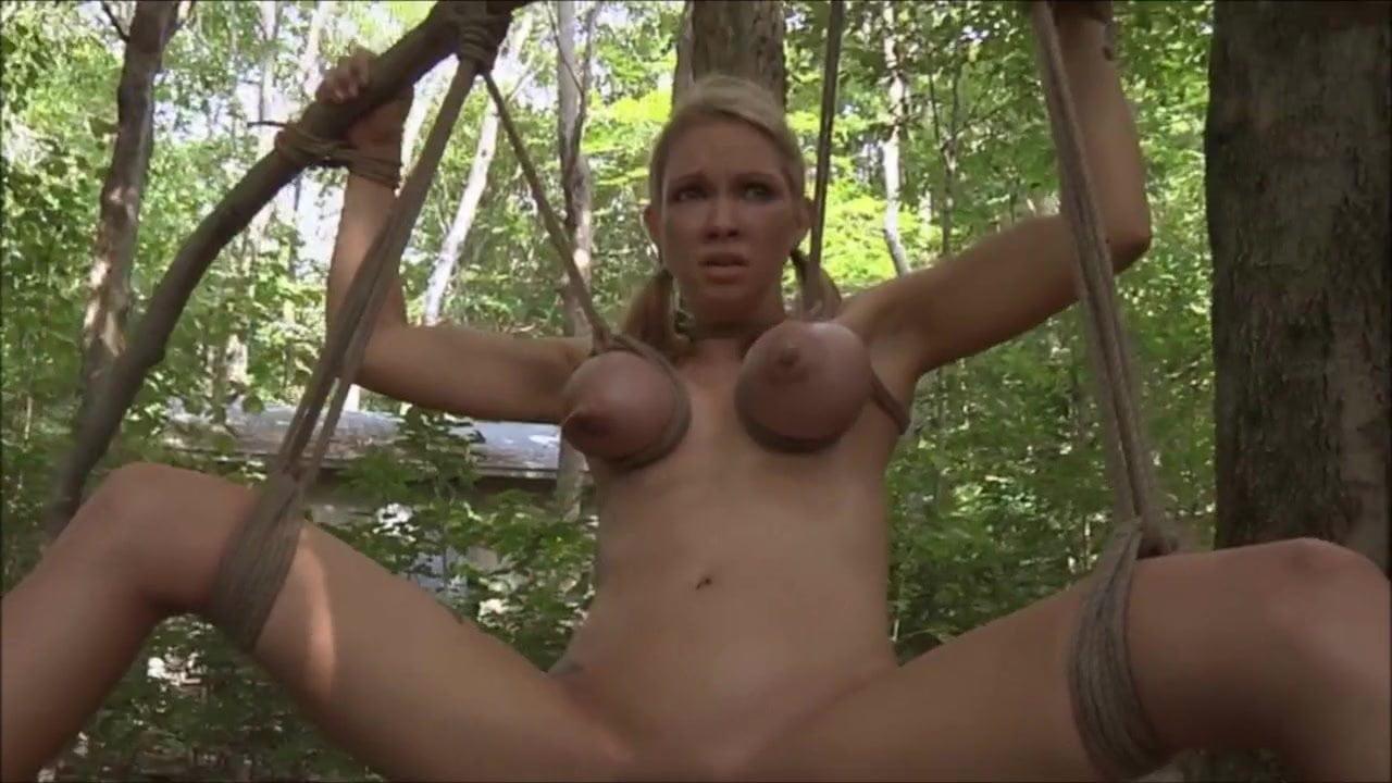 Porn in woods