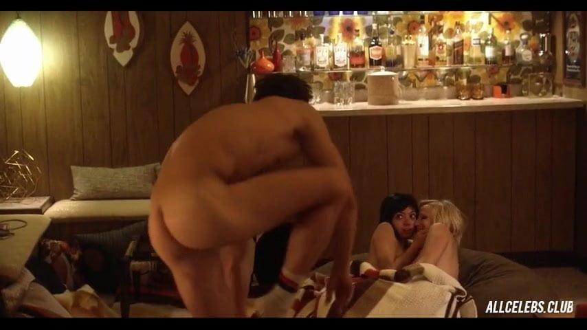 Malin Akerman And Kate Micucci Nude Lesbian Sex Scene-7846