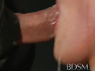 BDSM XXX Magic wand orgasms prove too much for filthy subs