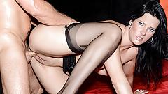 HITZEFREI Big tit German MILF Sina Velvet fucked hard