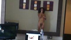 Nikki Ladyboys 5stars Hotel Hard cock Mirror