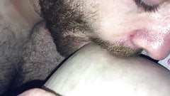 Getting my tits suckled by my sex bf's Thumb