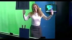Linda Church shaking her ass and tits