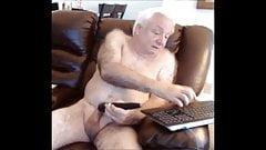grandpa is hairy