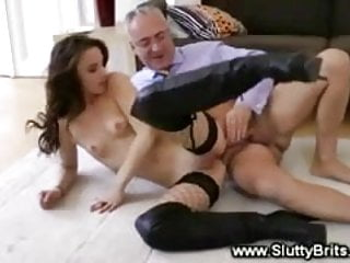 Slut gets her pussy licked and fucked