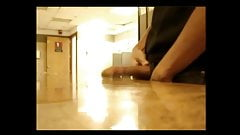 Caught Jacking Off In The Men's Room