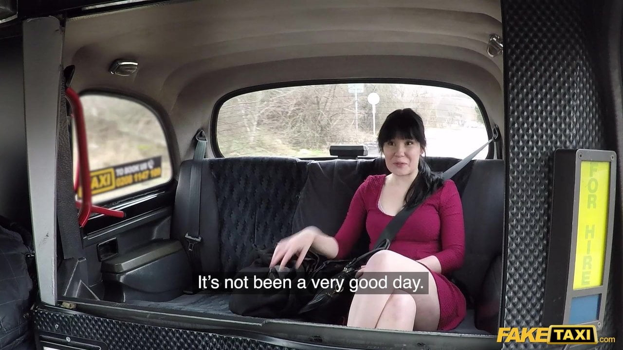 Fake Taxi Sweet Angelina and the backseat casting vaginal