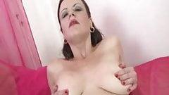 Odina MILF housewife solo