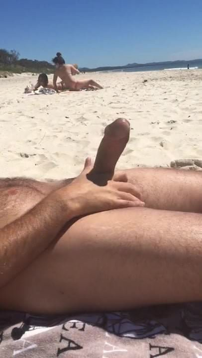 beach dick flash