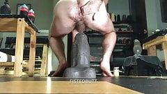 My gaping hole vs Goliath from Mr Hankeys Toys