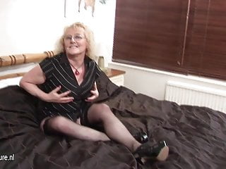 Grandmother getting frisky