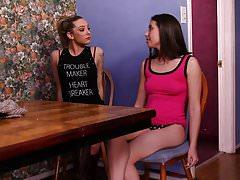 Bailey Blue and Casey Calvert Lesbian Sex